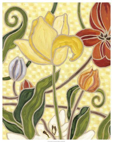 Sunny Garden II Art Print