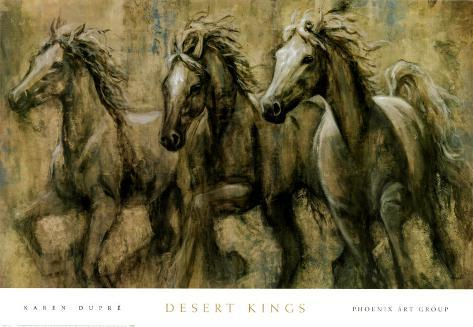 Desert Kings Art Print