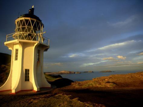 Cape Reinga Lighthouse, New Zealand Photographic Print