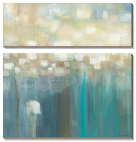 Aqua Light Canvas Art Set