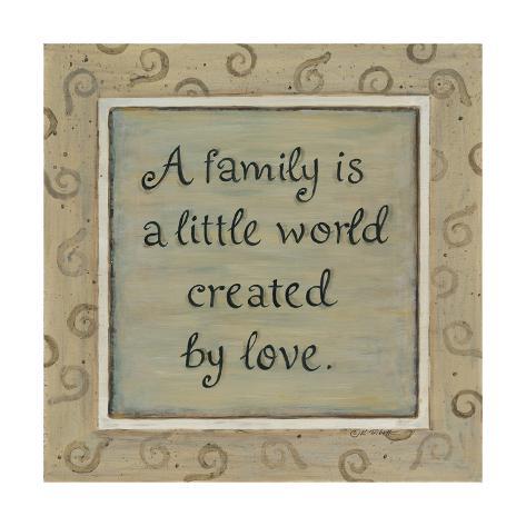 A Family Art Print