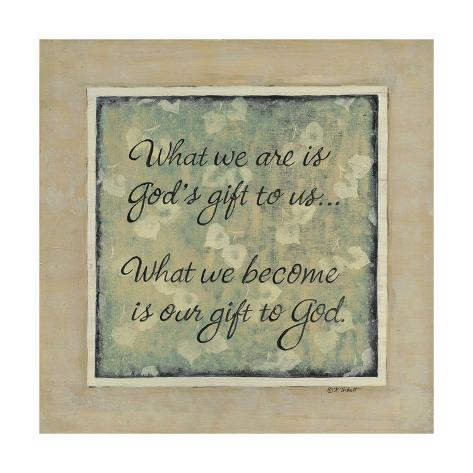What We Are Art Print