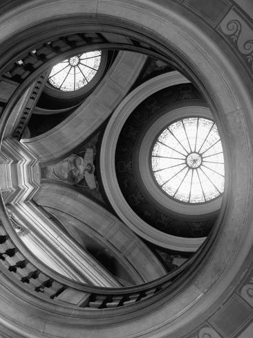 Interior of Essex County Courthouse Rotunda Photographic Print