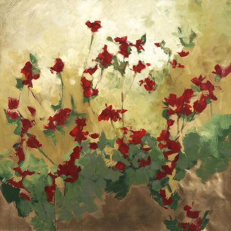 Cranberry Garden Giclee Print