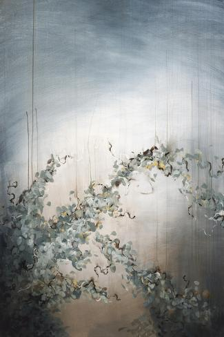 Falling Flowers Giclee Print