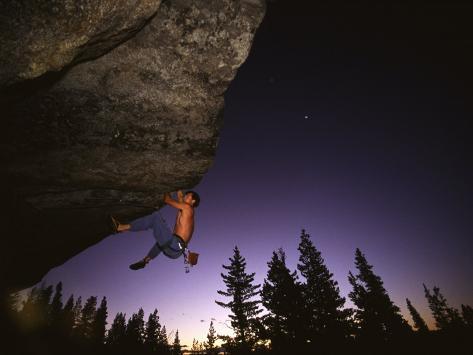 Karl's Overhang Donner Summit, California, USA Photographic Print