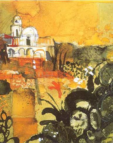 Church of Cacteen Art Print
