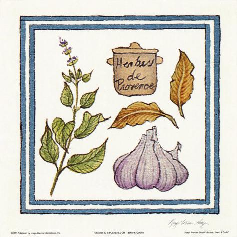 Herb And Garlic Taidevedos