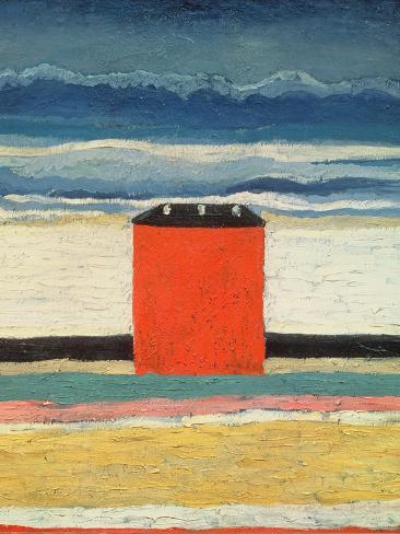 Red House, 1932 Lámina giclée