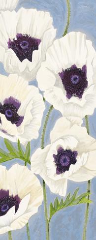 Poppy Haze II Art Print