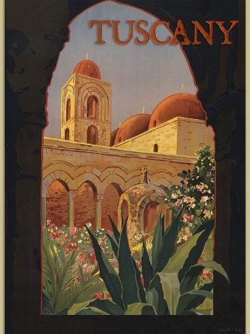 Tuscany Giclee Print