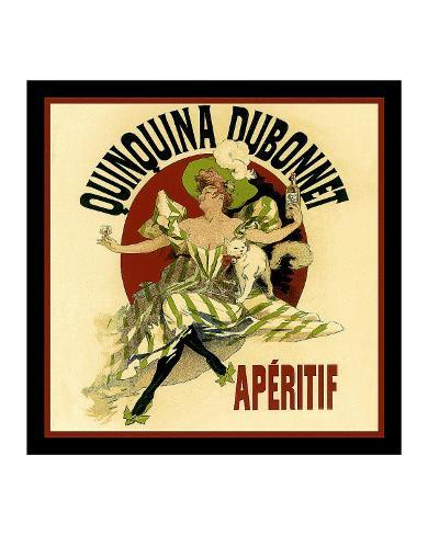 Vintage Dubonnet Liquor Giclee Print