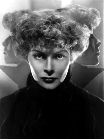 Katharine Hepburn in Multiple Exposure Shot from the Mid 1930s Photo