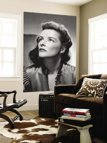 Katharine Hepburn Wall Mural
