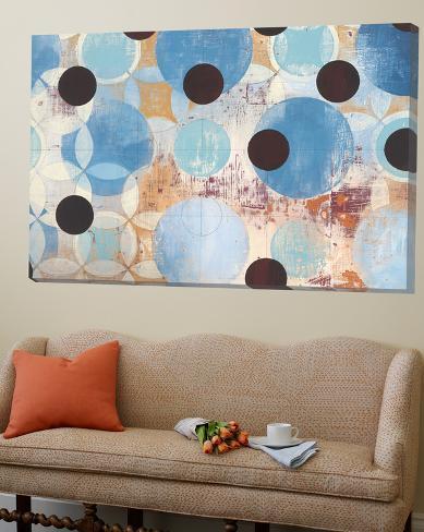 Blue Dots Loft Art