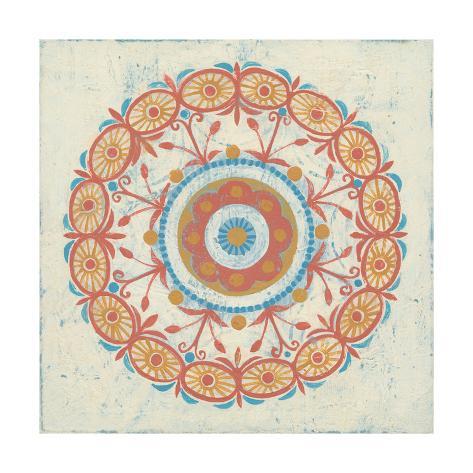 Lakai Circle I Art Print