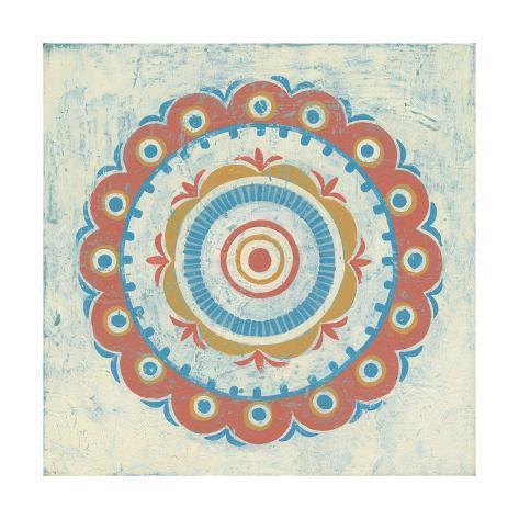Lakai Circle II Art Print