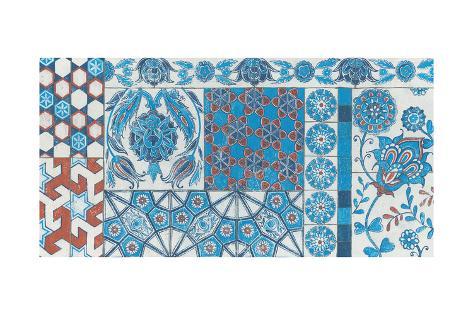 Turkish Tiles Art Print