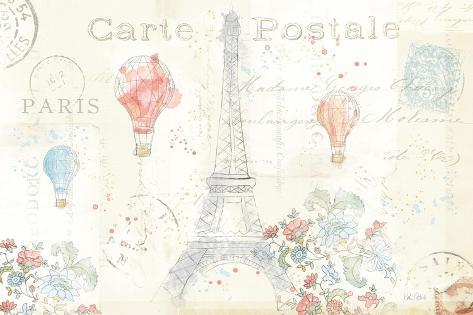 Lighthearted in Paris I Art Print