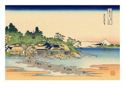 Enoshima in Sagami Province Giclee Print
