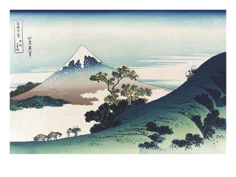 Inumi Pass in the Kai Province Art Print