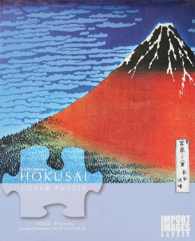 Katsushika Hokusai Mt. Fuji 1000 Piece Jigsaw Puzzle Quebra-cabeça