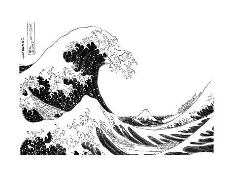 the great wave off kanagawa from the series 36 views of mt fuji