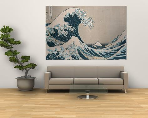 The Great Wave Off Kanagawa, from the Series