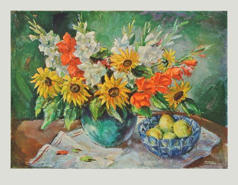 Flowers in a Vase Collectable Print