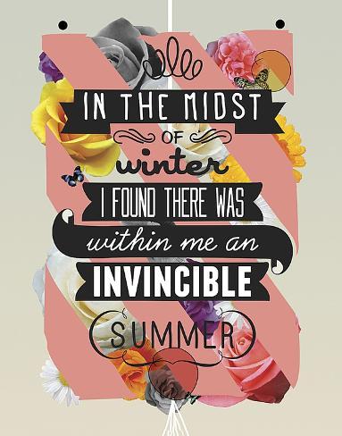 The Invincible Summer Art Print