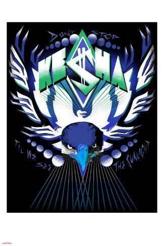 Ke$ha Metal Print