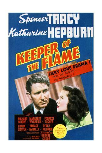 Keeper of the Flame - Movie Poster Reproduction Art Print