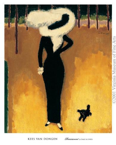 Parisienne Art Print