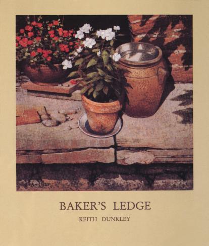 Baker's Ledge Art Print