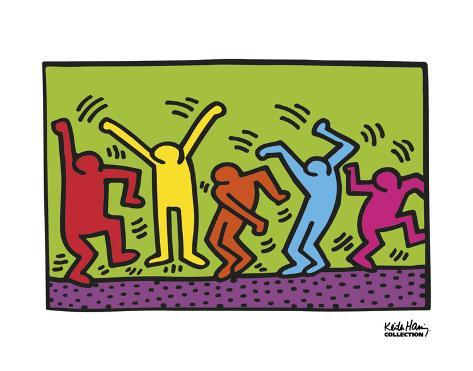 Untitled, 1987 (dance) Stampa artistica