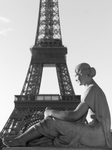 View of Eiffel, Tower, Paris, France Photographic Print