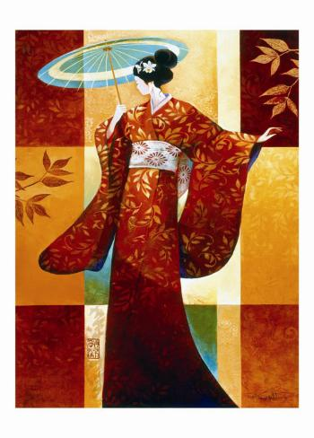 Misaki Art Print