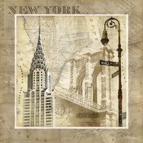 New York Serenade Art Print