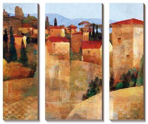 Tuscan Hillside Canvas Art Set