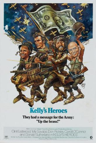 Kelly's Heroes Masterprint