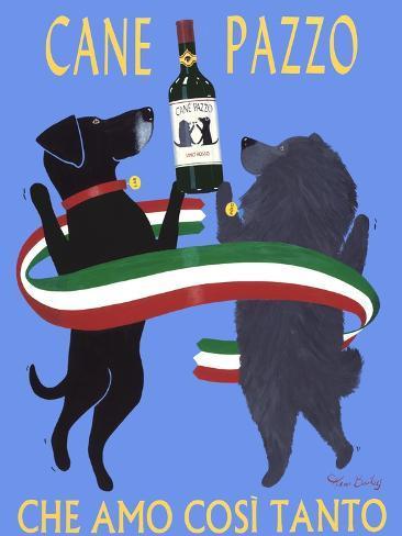 Cane Pazzo Premium Giclee Print