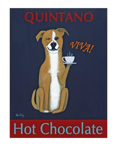 Quintano Hot Chocolate Collectable Print