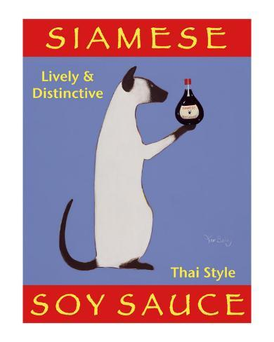 Siamese Soy Sauce Collectable Print