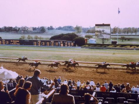 Keenland Racetrack, Lexington, KY Photographic Print