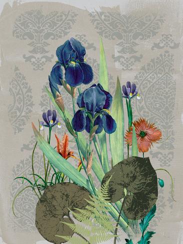 Summer Flowers I Art Print