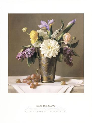 Flowers in an Indian Vase Art Print