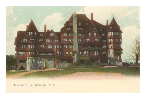 Kenilworth Inn, Asheville, North Carolina Art Print