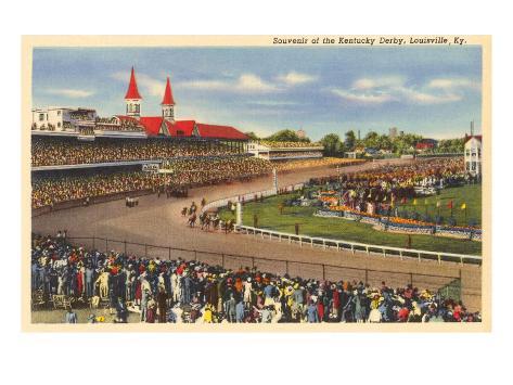 Kentucky Derby, Louisville, Kentucky Art Print