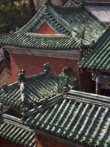 China, Hubei Province, Mt Photographic Print