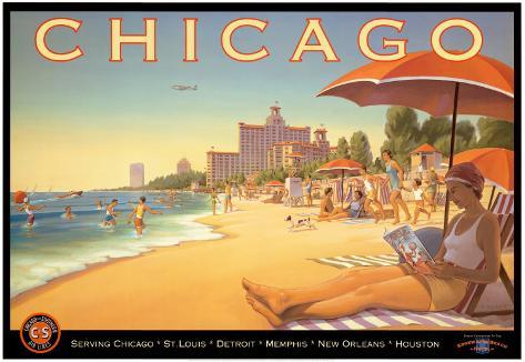 Chicago and Southern Air Art Print